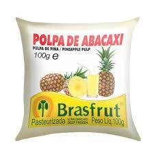 Polpa de fruta abacaxi Brasfrut