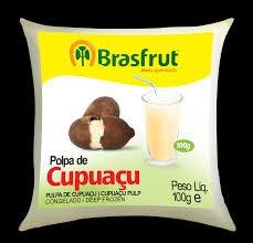 Polpa de fruta cupuacu Brasfrut