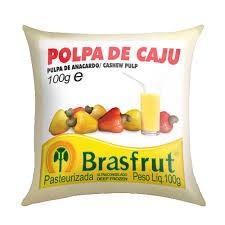 Polpa de fruta caju Brasfrut