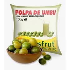 Polpa de fruta umbu Brasfrut