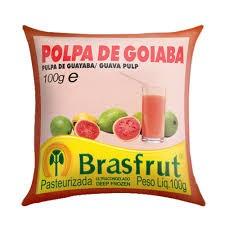Polpa de fruta goiaba Brasfrut