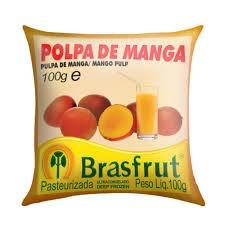 Polpa de fruta manga Brasfrut