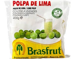 Polpa de fruta lima Brasfrut