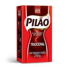 Café Pilão 250g 100% BRASILEIRO