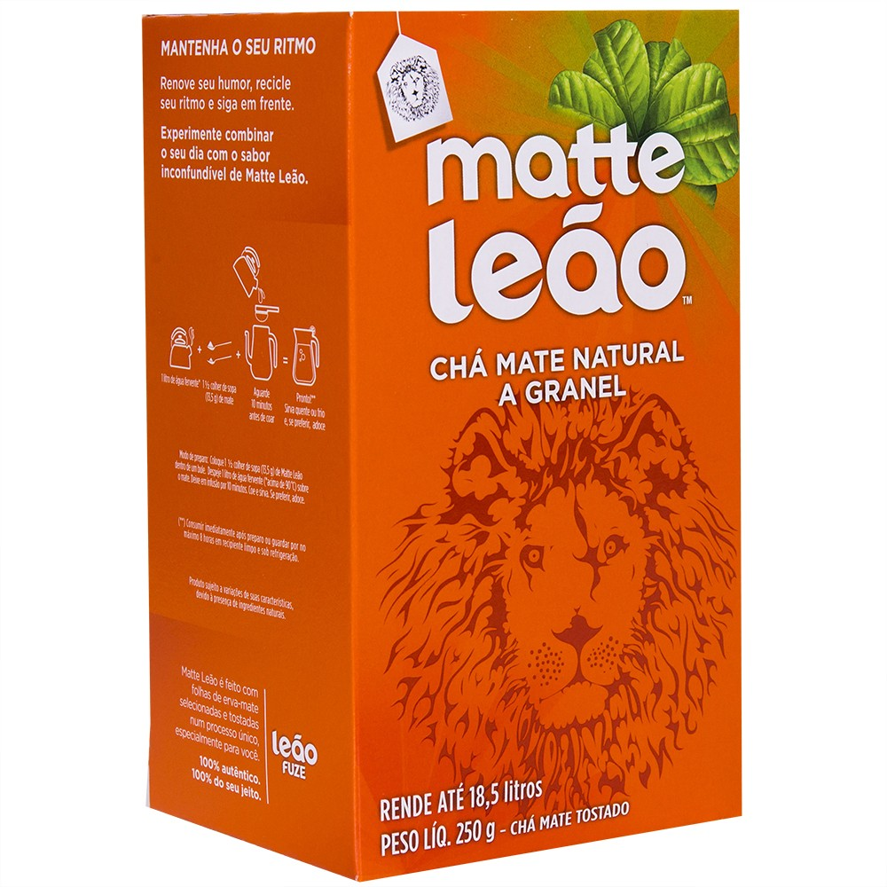 Chá Matte Leão a granel 100g