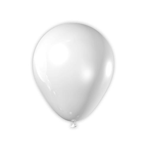 Balão Art-Latex Branco nº7 50und