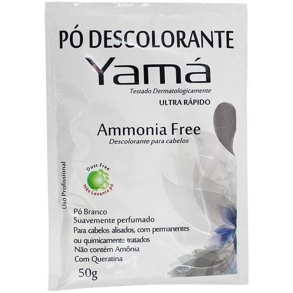 Yamá Pó Descolorante Sem Amônia 50g