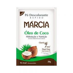 Pó Descolorante Márcia Óleo de Coco 20g