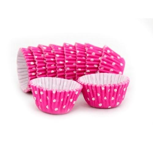 Forma Pink Poá Branco No. 5 - 100 unidades