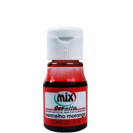 Anilina Vermelho Morango 10ml Mix