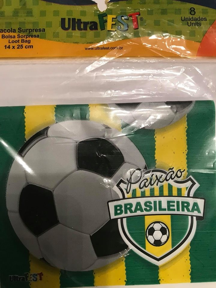 Sacola Surpresa BRASIL - 8 unidades