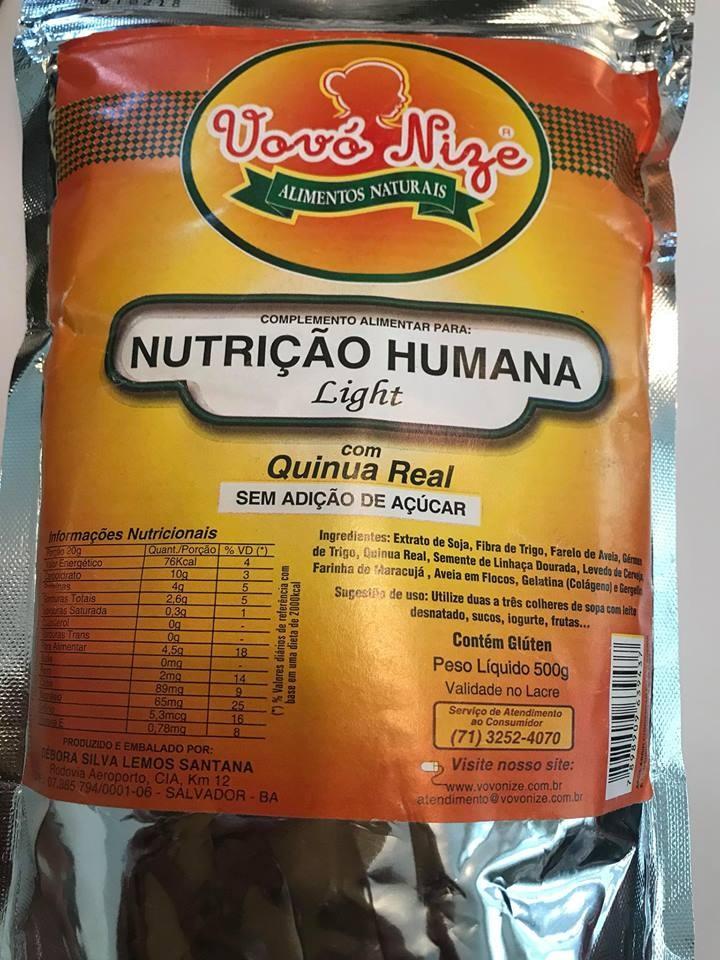 NUTRICAO HUMANA LIGHT sem adicao de acucar 500g
